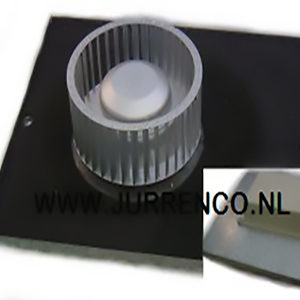 ABB ventilator motorplaat met waaier