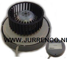 IHB / Stork ventilator kunststof motorplaat met waaier