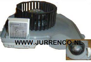 S&P ventilator motorplaat met waaier