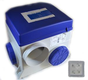 Ventilatiebox met draadloze bediening